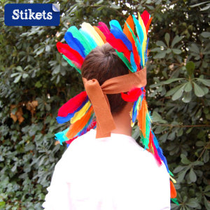 Deguisement Fait Maison Pour Enfant L Indien Stikets