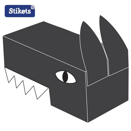 Masque tête de loup