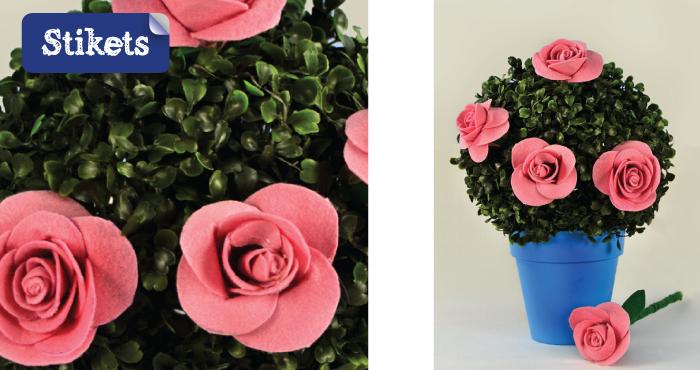 rose feutrine 9