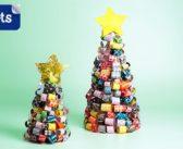 Activités de Noël: Sapins de couleurs