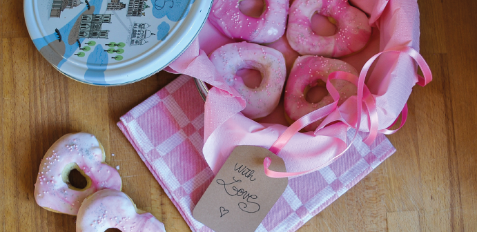 Donuts de la Saint Valentin