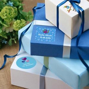 Étiquettes cadeaux