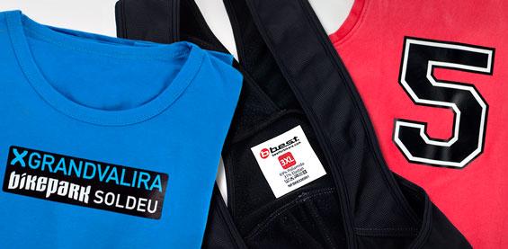 Créez des etiquettes pour textile sur mesure avec votre propre logo ou dessin !