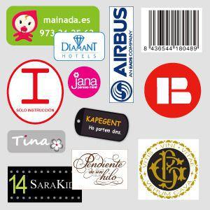 Etiquettes pour textile sur mesure