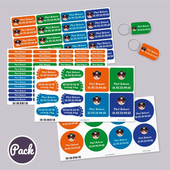 Pack Autocollants