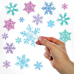 Sticker Flocons de neige