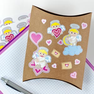 Stickers Saint Valentin