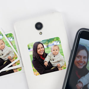 Stickers téléphone avec photo (8 u.)