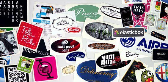 Créez des étiquettes ou des autocollants avec votre propre logo ou dessin !