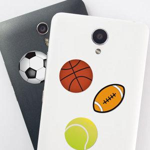 Stickers téléphone en forme de ballons