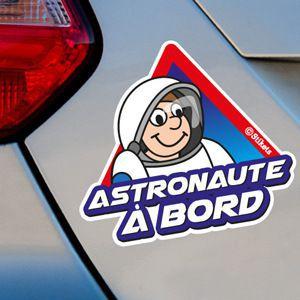 Astronaute à bord