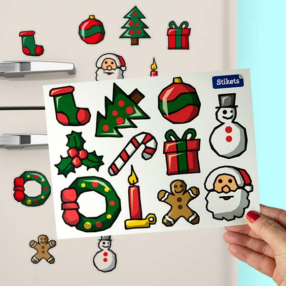 Stickers décorations de Noël